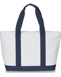 Lacoste - Women's Classic Women's Shopper Bag In White - Lyst