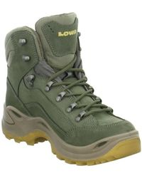 Lowa - Renegade Gtx Mid Men's Low Ankle Boots In Green - Lyst
