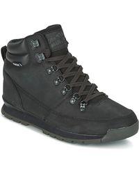 The North Face Laarzen Back-to-berkeley Redux Leather - Zwart
