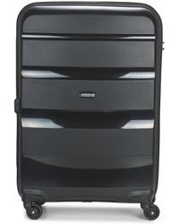 American Tourister - Bon Air 66cm 4r Women's Hard Suitcase In Black - Lyst