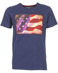 Best Mountain - Florda Men's T Shirt In Blue - Lyst