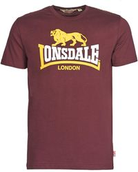 Lonsdale London T-shirt Korte Mouw Holmpton - Meerkleurig