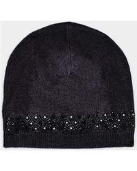 cb69ea75507 Max   Moi - Hat Hatdiamond Black Woman Autumn winter Collection Women s  Beanie In Black