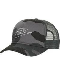 Nike U NSW CLC99 CAP CAMO TRUCKER Casquette - Gris