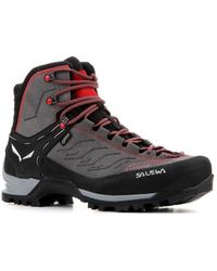 Salewa Ms Mtn Trainer Mid Gtx 63458 4720 Walking Boots - Gray