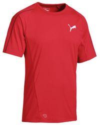 PUMA T-shirt Korte Mouw Final Training Jersey Pro - Rood