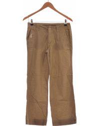 Oxbow Pantalon Droit Femme 36 - T1 - S Pantalon - Vert