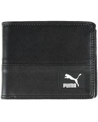 PUMA Originals Billfold Wallet Purse Wallet - Black