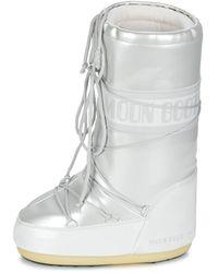 Moon Boot Botas Vinile Met - Blanco
