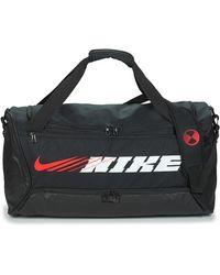 Nike Bolsa de deporte BRSLA M DUFF-9.0 PX GFX S - Negro