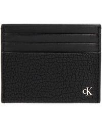 Calvin Klein Portefeuille K50K505845 CARDCASE - Noir