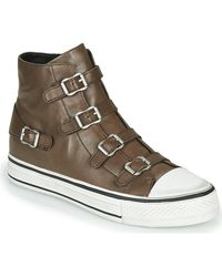 Ash Hoge Sneakers Virgin Fango - Grijs