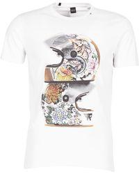 Replay - Cikan Men's T Shirt In White - Lyst