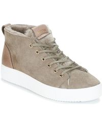 e82832a24d7 Blackstone - Ql48 Women s Shoes (trainers) In Beige - Lyst