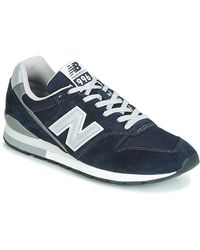 New Balance Lage Sneakers 996 - Blauw