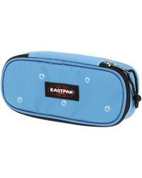 Eastpak Oval blue wait hommes Trousse en bleu