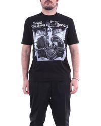 Moncler T-shirt Korte Mouw 8c705108392b - Zwart