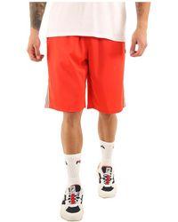 Fila Short Josh Long Shorts 687009 Short - Rouge
