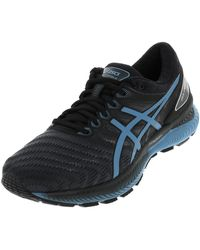Asics - Chaussures Nimbus 22 gel blue run - Lyst