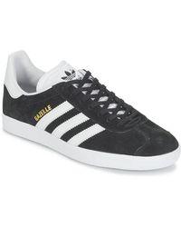 adidas Zapatillas Core Gazelle BB5476 en blanco y negro