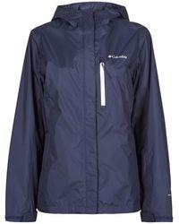 Columbia Giubbotto Pouring Adventure Ii Jacket - Blu