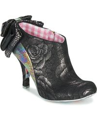 Irregular Choice Low Boots Baby Beauty - Zwart