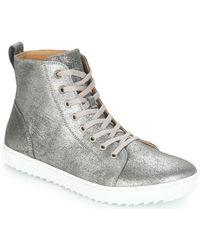 Birkenstock Hoge Sneakers Bartlett Women - Metallic