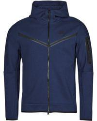 Nike Trainingsjacken SPORTSWEAR TECH FLEECE - Blau