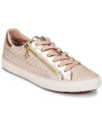 S.oliver - Boombo Women's Shoes (trainers) In Pink - Lyst