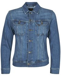 Lee Jeans Giacca In Jeans Slim Rider Jacket - Blu