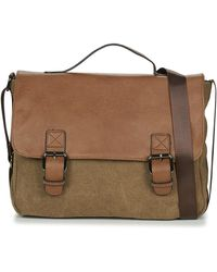 Casual Attitude Henvi Messenger Bag - Brown