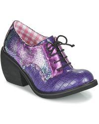 Irregular Choice Zapatos Mujer TIPPLE - Morado