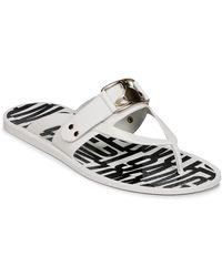 Vivienne Westwood Teenslippers Sandal Frame Orb - Wit