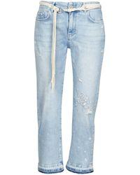 Desigual 7/8 Jeans Pondio - Blauw