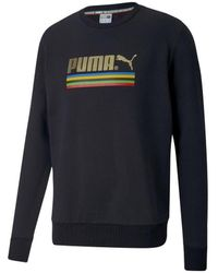 PUMA Sweat-shirt Sweat crewneck TFS - Noir