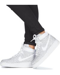 Air Force 1 High Just Do It W Shoes (high-top Trainers) - White