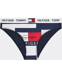Tommy Hilfiger Slips UW0UW02206 BIKINI - Bleu