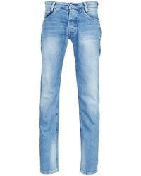 Pepe Jeans Straight Jeans Spike - Blauw