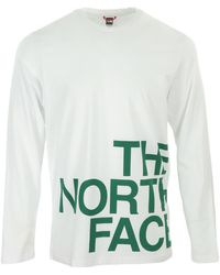 The North Face - Graphic Flow LS T-shirt - Lyst