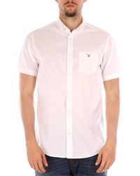 GANT 3016131 camisas hombre blanco