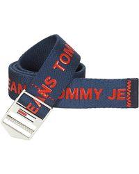 Tommy Hilfiger Riem Tjm Explorer Belt 3.5 - Blauw