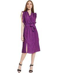 GAUDI 011BD15004 Robe - Violet