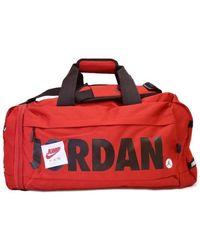 Nike Bolsa de viaje Air Jordan Jumpman Duffel Bag - Rojo