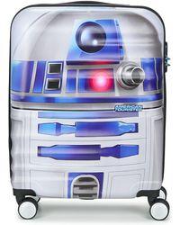 American Tourister Reiskoffer Star Wars R2d2 55cm 4r - Wit