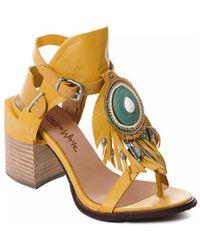 Rebecca White T0509 Chaussures escarpins - Jaune