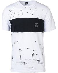 Rip Curl - Busy Surf Day Tee Ctebi5 Men's T Shirt In White - Lyst