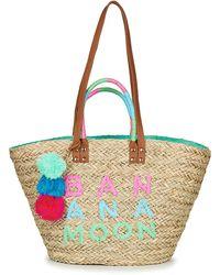 Banana Moon Lickly Woodraw Shopper Bag - Natural