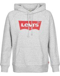 Levi's Sweater Levis Graphic Sport Hoodie - Grijs