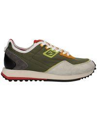 Replay Gms2M.000C0009Tpe21 Sneakers Low Army LT OR - Noir