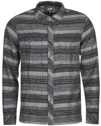 Billabong Overhemd Lange Mouw Offshore Ls - Zwart